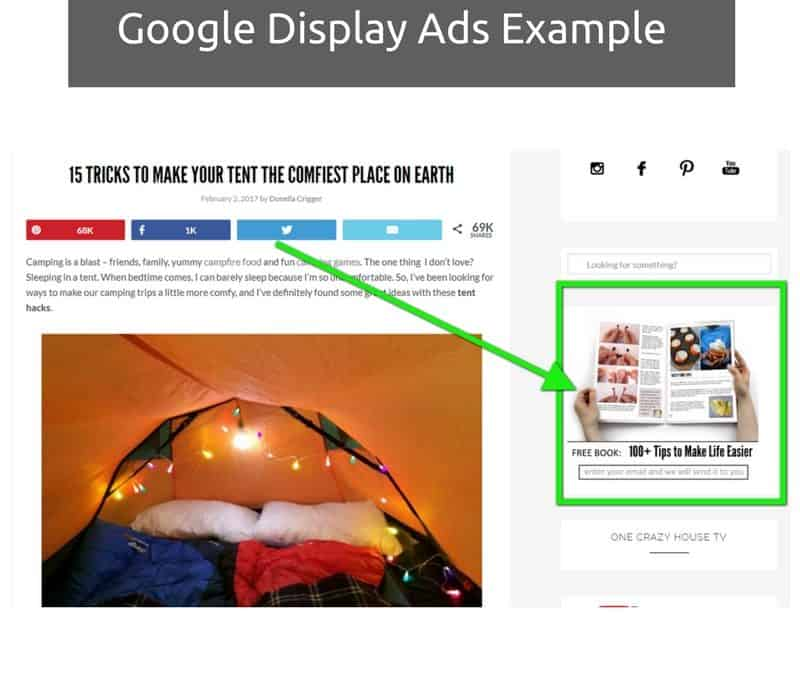 Google Display Network – In Market Ads