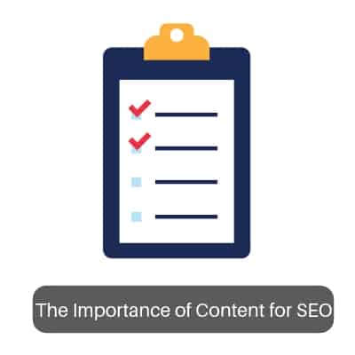 The Importance of Content for SEO