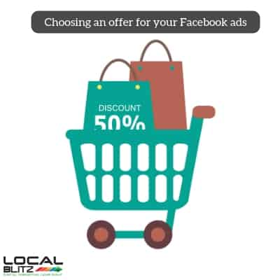 Choosing an offer for your Facebook ads