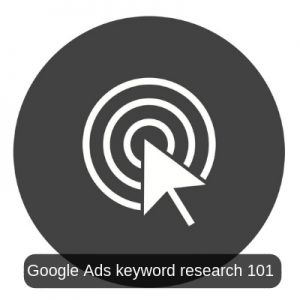 Google Ads keyword research
